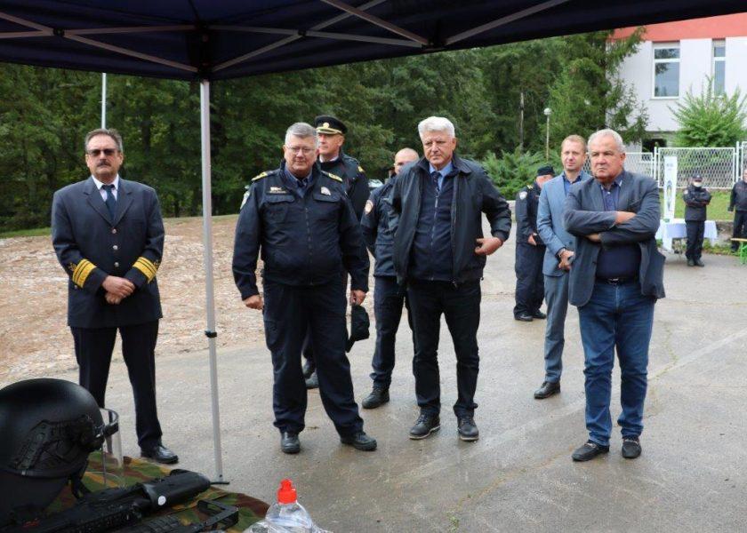 Dan policije u Vatrogasnom trening centru u Šapjanama