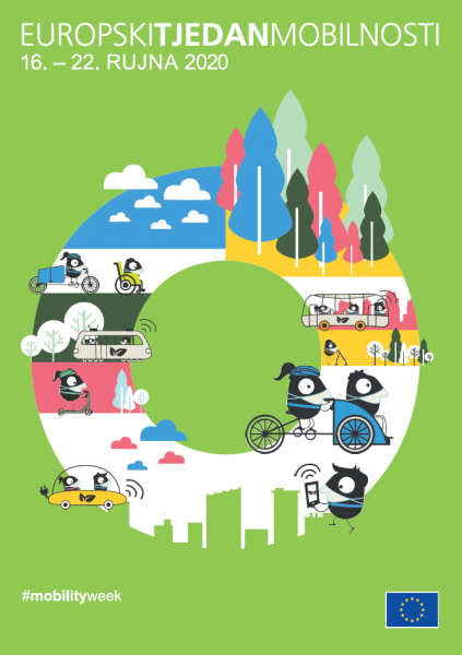 Europski tjedan mobilnosti 2020 poster