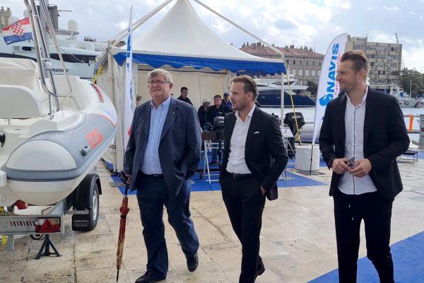 Gradonačelnik Obersnel na Rijeka Boat Showu