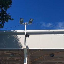 Nova LED rasvjeta na Košarkaškom igralištu Zamet