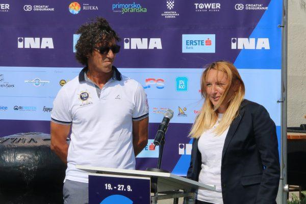 Organizatori Fiumanke Davor Perović i Ljiljana Ivetac