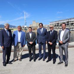 Potpis ugovora za rekonstrukciju infrastrukture u luci Rijeka