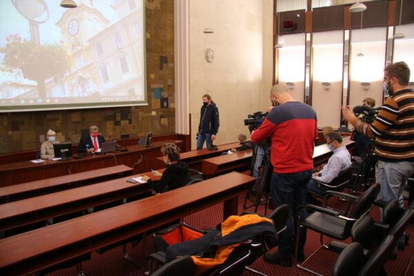 Zbog pogoršanja epidemiološke situacije, gradonačelnikov kolegij održan online s izvještajem novinarima o glavnim zaključcima