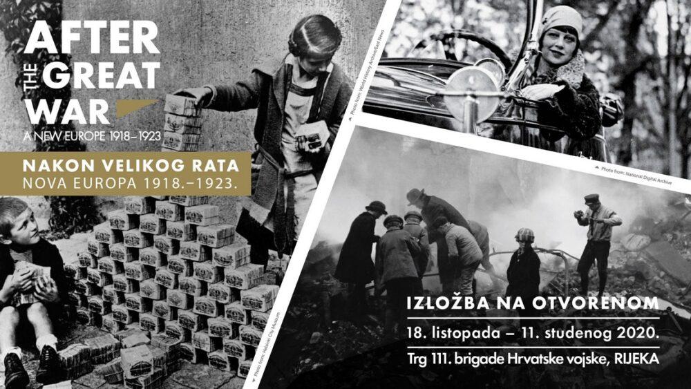 Izložba Nakon Velikog rata. Nova Europa 1918. – 1923