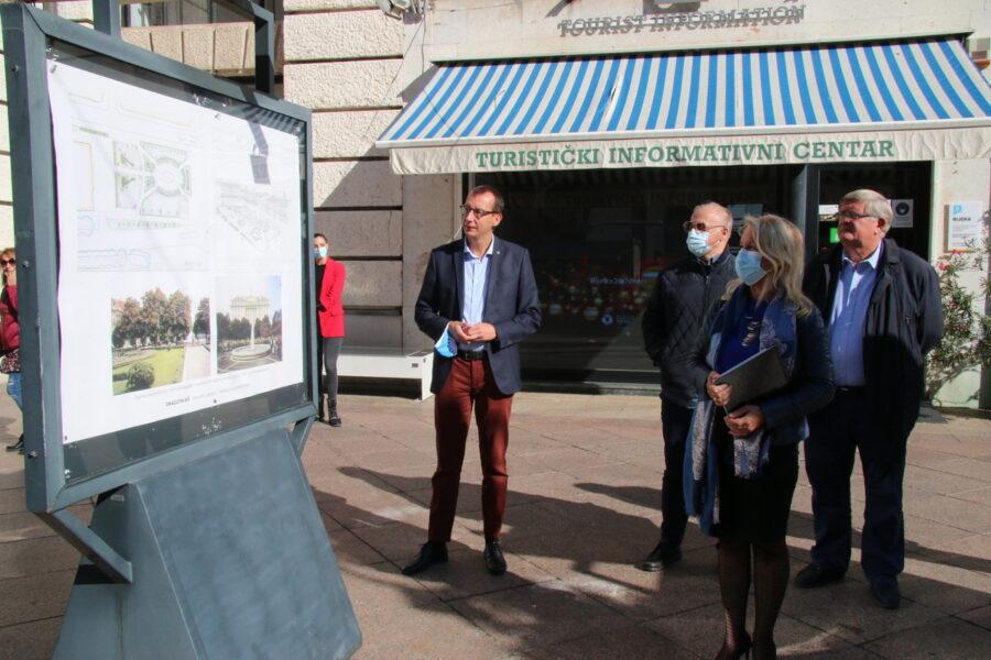 Izložba na postamentima posvećena pejzažnom arhitektu Dragutinu Kišu