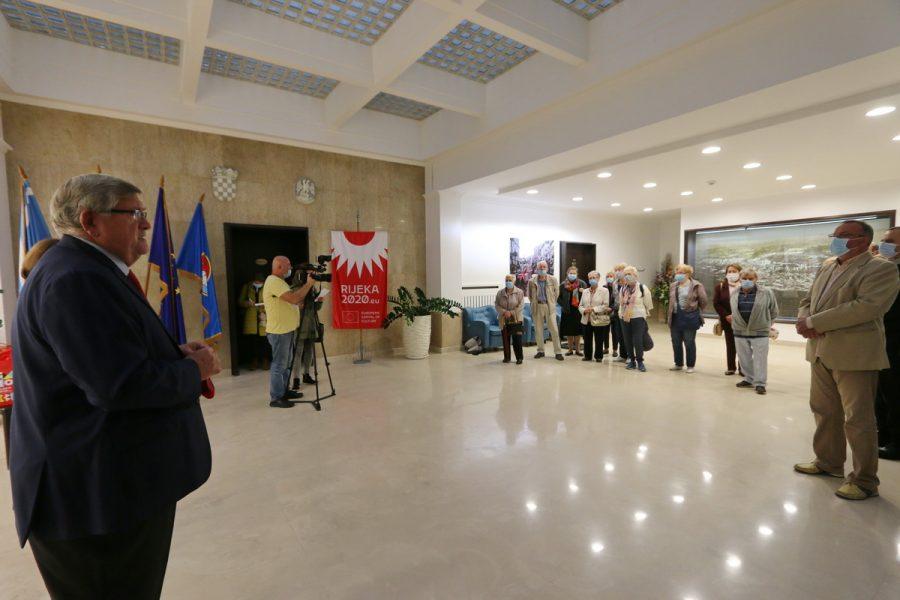 Prijem za predsjednike klubova umirovljenika i starijih osoba