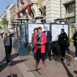 Podršku akciji dala i novinarka Maja Sever