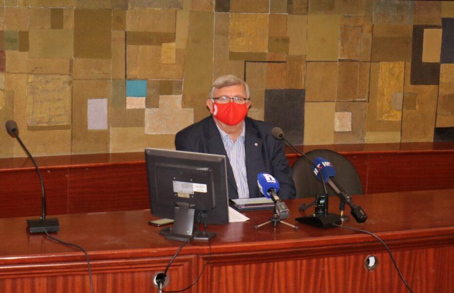 Gradonačelnik Vojko Obersnel 70. gradonačelnikov kolegij