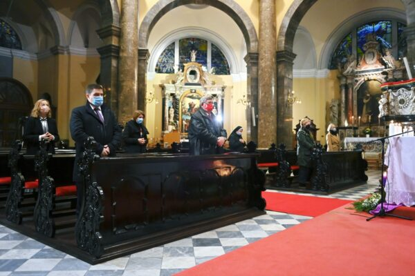 Svečanoj misi prisustvovao i riječki gradonačelnik Vojko Obersnel