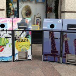 Novi pametni spremnici za otpad na riječkim ulicama
