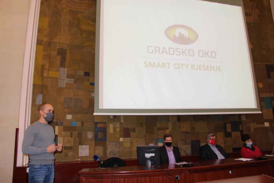 Prezentacija aplikacije za prijavu komunalnih problema Gradsko oko