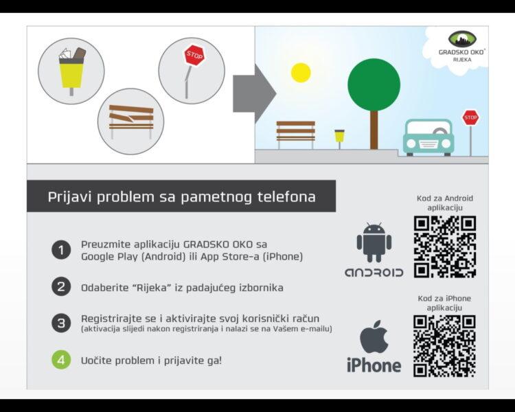 Jednostavni koraci prijave komunalnog problema putem mobilne aplikacije