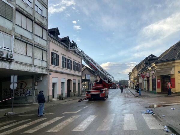 Riječki vatrogasci u Petrinji