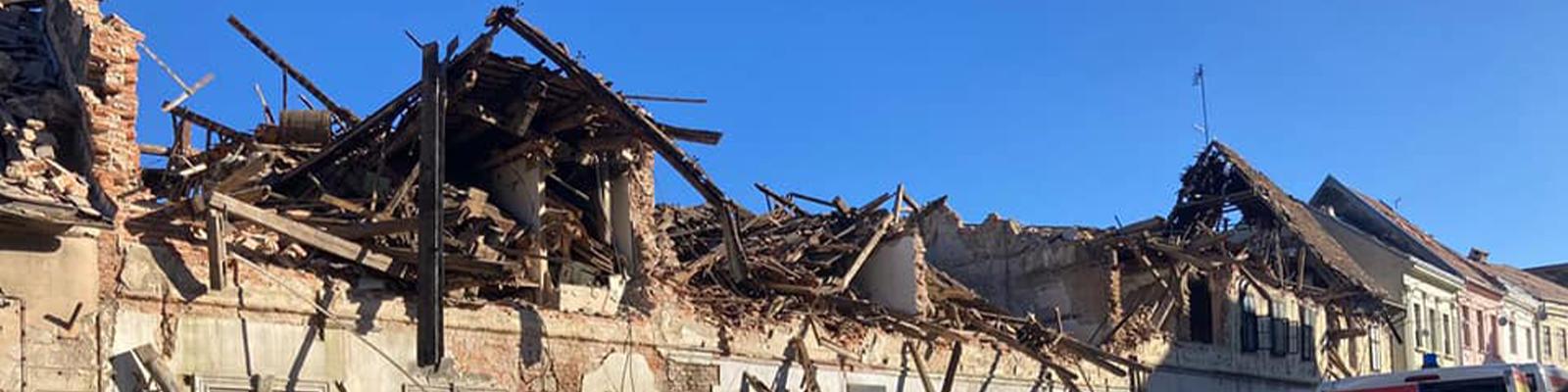 Pomoć unesrećenima uslijed razornog potresa na području Sisačko-moslavačke županije