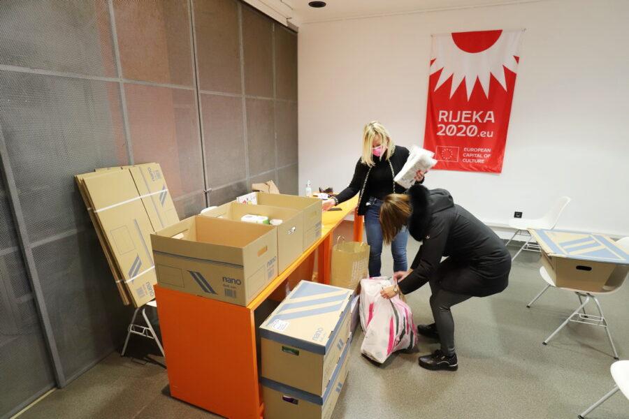 Humanitarna akcija prikupljanja za nastradale u potresu na Baniji