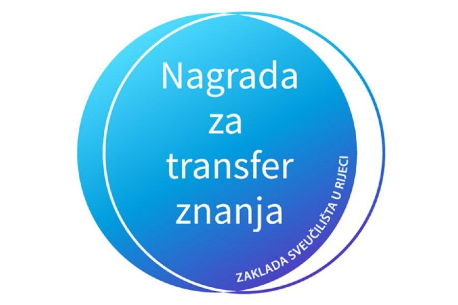 Nagrada za transfer znanja Zaklade Sveučilišta u Rijeci