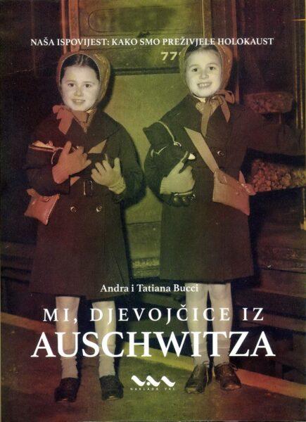 """Naslovnica knjige """"Mi, djevojčice iz Auschwitza"""""""