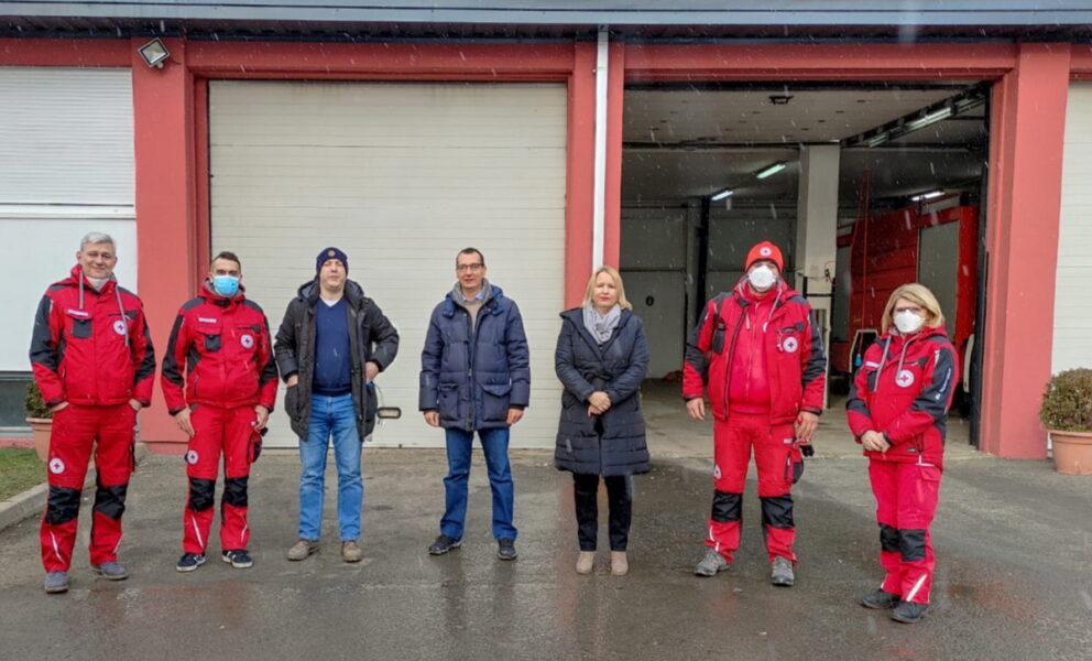 Zamjenik Filipović tijekom vikenda dopremio humanitarnu pomoć na potresom pogođeno područje 1