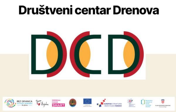 Društveni centar Drenova logo