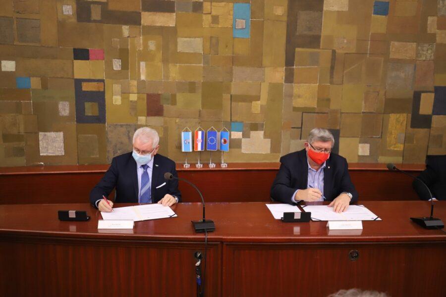 Potpis ugovora za izgradnju Sortirnice Mihačeva Draga
