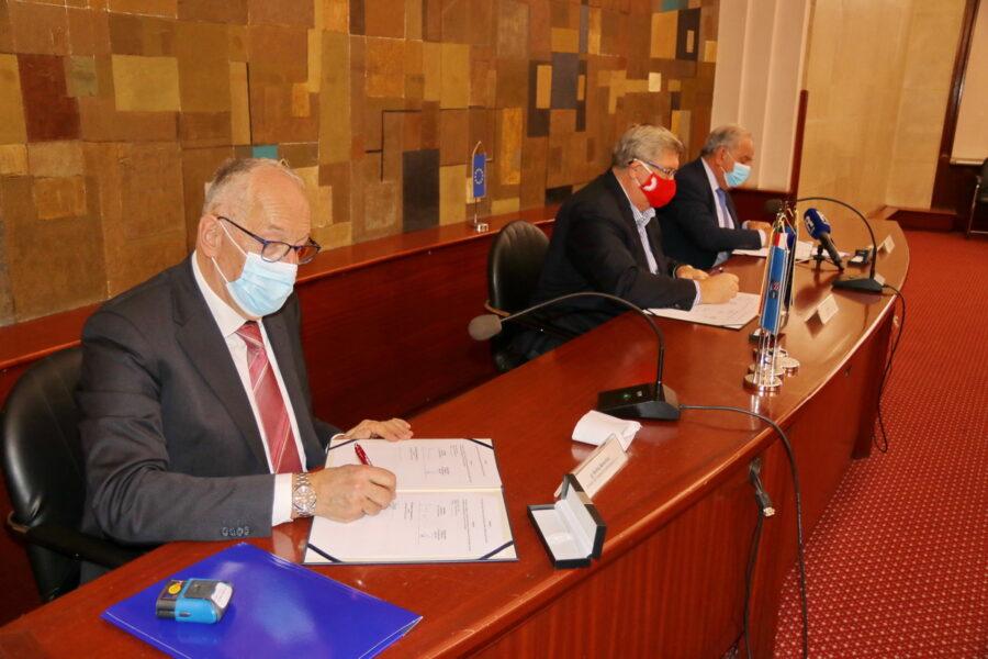 Potpisan ugovor o izgradnji komunalne infrastrukture u Poduzetničkoj zoni Bodulovo