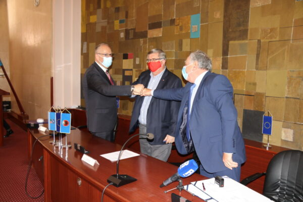 Andrej Marochini, Vojko Obersnel i Josip Purić