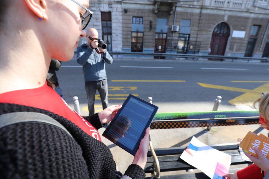Predstavljanje programa Kako čitati grad projekta Kortil uživo