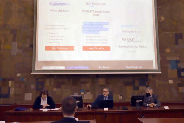 Prezentacija web trgovine Rijeka CityCard Silvija Lučić, Emir Dizdarević, Alberto Kontuš