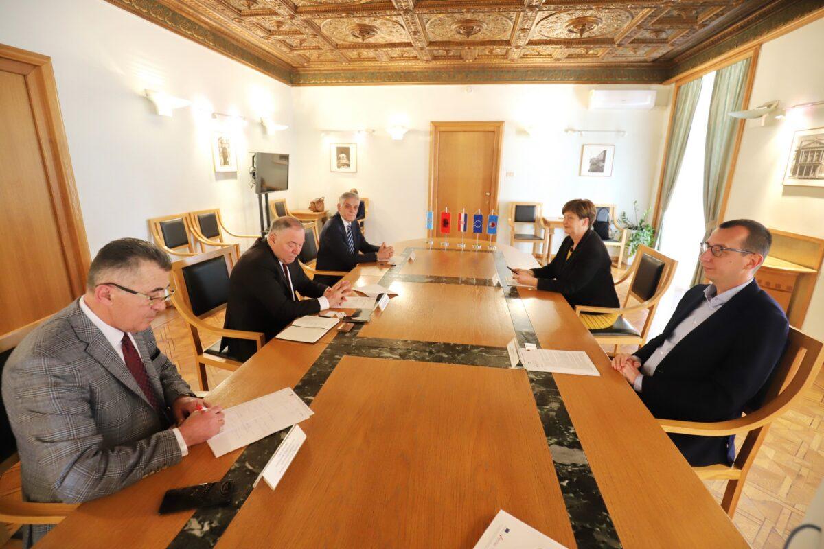 Prijam za Bashkima Islama Enesija počasnog konzula Republike Albanije