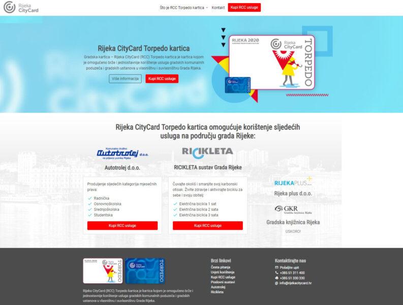 www.rijekacitycard.hr portal
