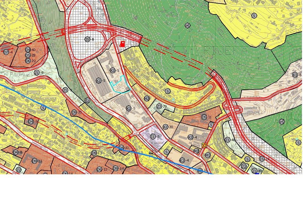 Obuhvat DPU dijela komunalno servisne zone Škurinje