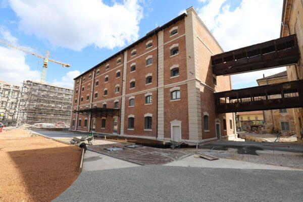 Dječja kuća - Cigleni objekt radovi rekonstrukcije i uređenja - Kompleks Benčić Revitalizacija kompleksa Benčić – Cigleni i T-objekt
