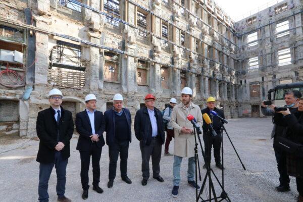 Niko Cvjetković, Andrej Poropat, Nikola Ivaniš, Vojko Obersnel, Ivan Šarar i Saša Randić