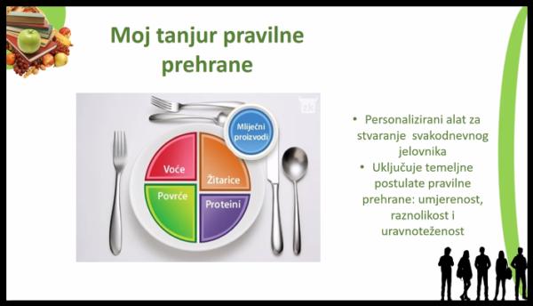 Online edukacija Pravilna prehrana mladih