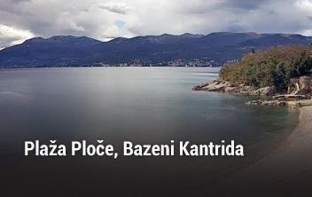 Rijeka plaža Ploče, Bazeni Kantrida