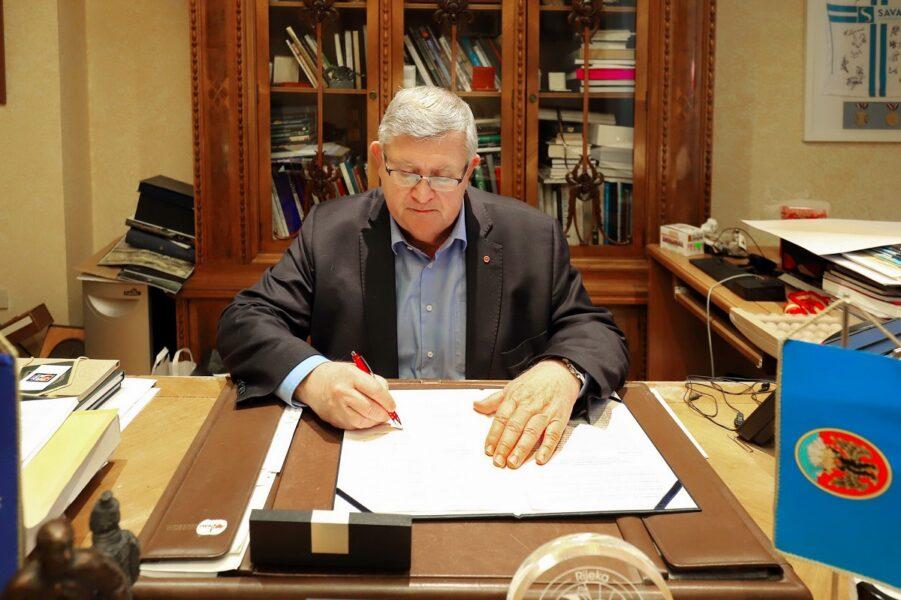 Potpisivanje sporazuma o suradnji na projektu Stori po svoju Vojko Obersnel