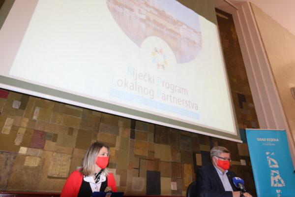 Dragica Fadljević i Vojko Obersnel