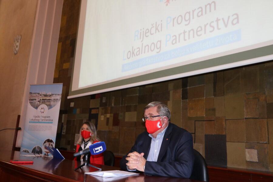 Predstavljeni projekti Riječkog programa lokalnog partnerstva u 2021. godini