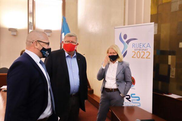 Slaviša Bradić, Vojko Obersnel i Dorotea Pešić Bukovac