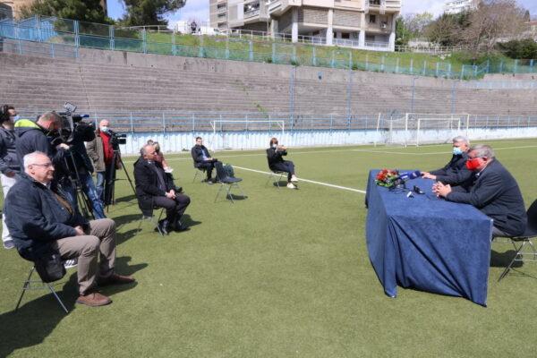 Potpisu ugovora prisustvovali i pročelnik Ivanković i direktor Rijeka sporta Butorac