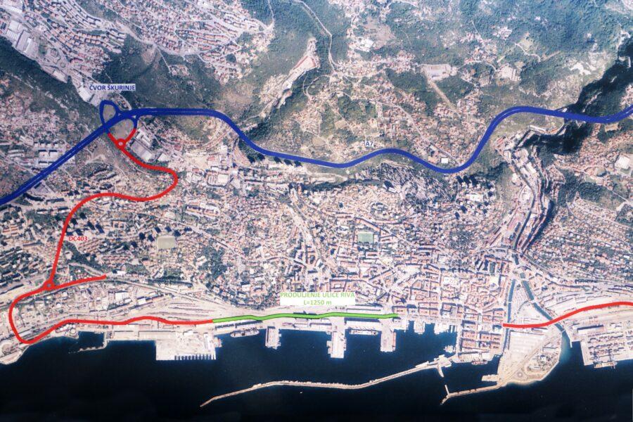 Predstavljanje projekta izgradnje spojne ceste lučkog područja s cestom D 403