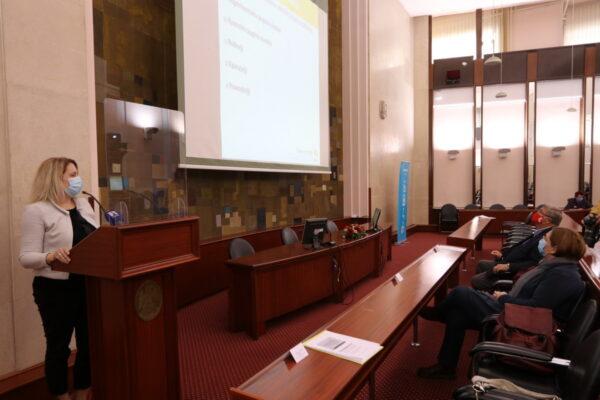 Rezultate predstavila Barbara Kalebić Maglica, predstavnica Centra za primijenjenu psihologiju