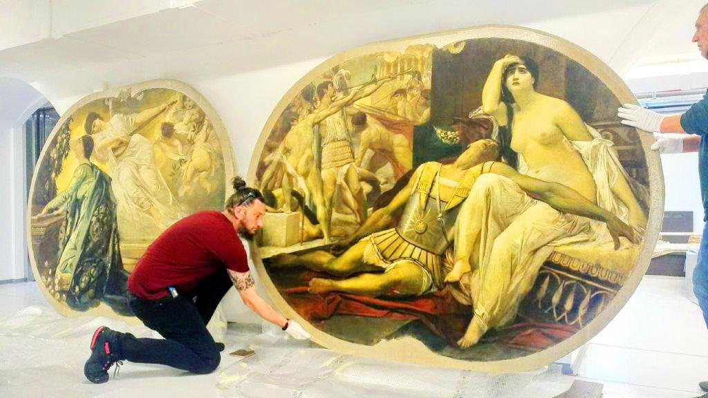 Slike za izložbu Nepoznati Klimt - foto Velid Đekić