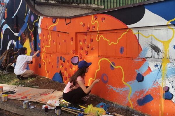 Street Art Radionica u sklopu projekata Kortil uživo i Žiroskop