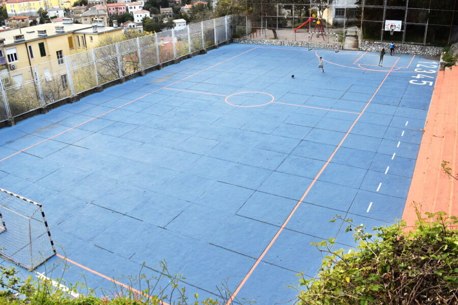 U sklopu Zelenog vala EPK 2020 oživljeno igralište na Belvederu