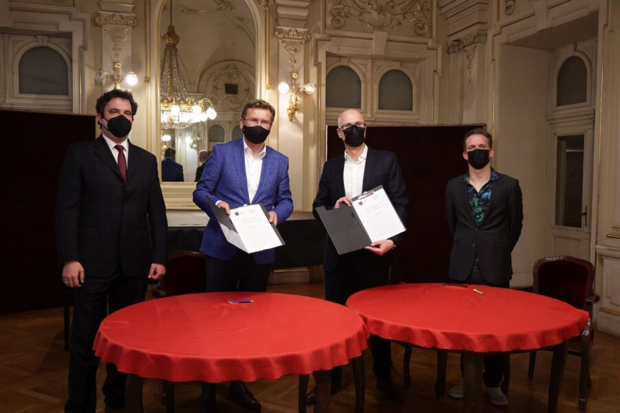 Filip Fak, Mirko Boch, Marin Blažević, Valentin Egel