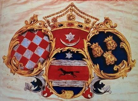 Hrvatska trobojnica iz 1848. godine