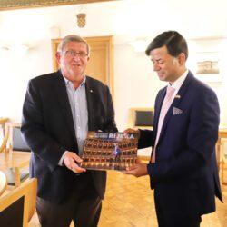 Nastupni posjet veleposlanika Indije Nj.E. Raja Kumara Srivastave