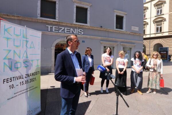 Festival je otvorenim proglasio zamjenik gradonačelnika Rijeke Marko Filipović