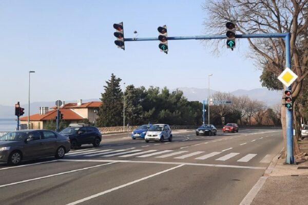 Pametni semafori postavljeni na šest raskrižja - Liburnijska-gradilište trgovačkog centra